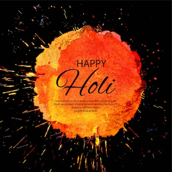Happy holi indian spring festival background