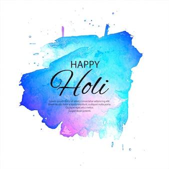 Happy holi indian spring festival background