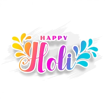 Happy holi traditional indian festival wishes background