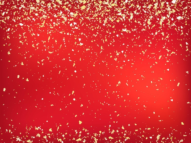 Happy holidays and a prosperous new year! vector background in eps10 format with realistic bokeh and gold glitter.