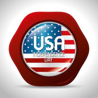 행복한 독립 기념일, 미국에서 7 월 4 일 축하