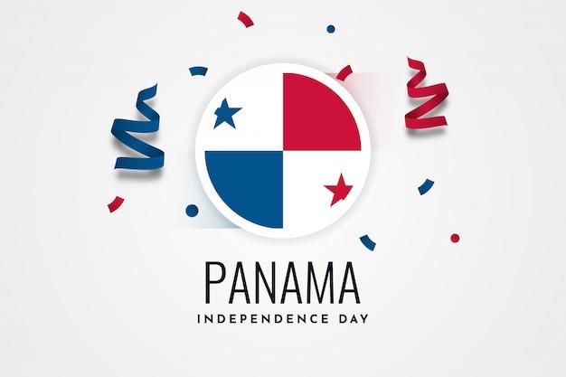幸せな独立記念日パナマ