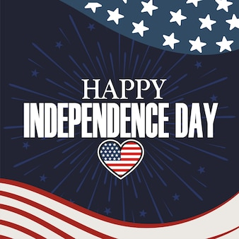 Happy independence day of the usa 4 th july.