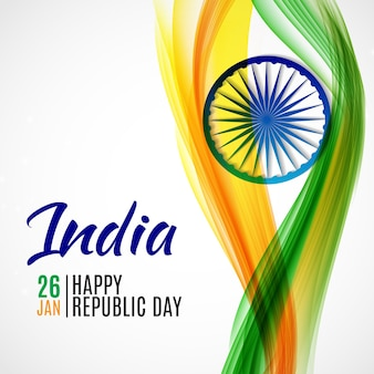 Happy india republic january.