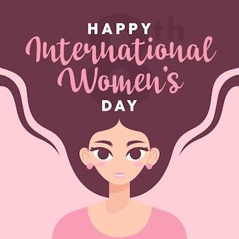 Happy international women's day, 8th march, women power