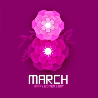 Happy international women's day on march 8th