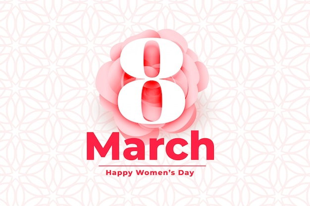 Happy international womens day event background
