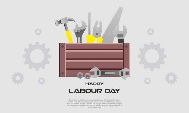 Happy international workers labour day