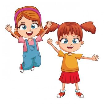幸せな子供漫画