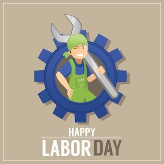 Happy labor day background