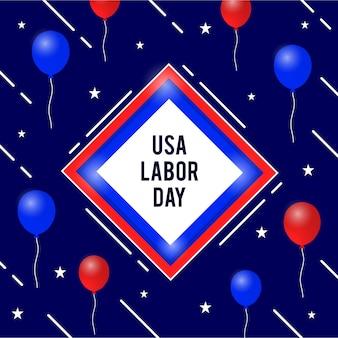 幸せな労働日アメリカ