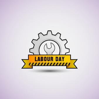 Happy labor day vector illustration