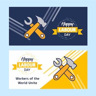 Счастливый рабочий день баннер