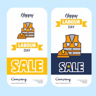Happy labour day design