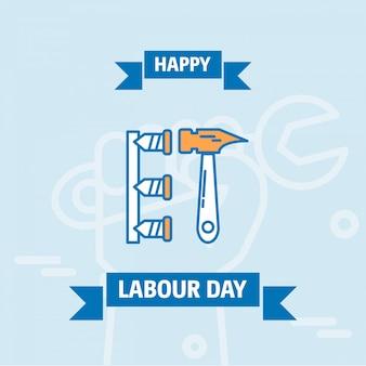 Счастливый рабочий день плакат