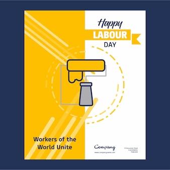 Счастливый рабочий день название страницы дизайн