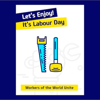Happy labour day usa