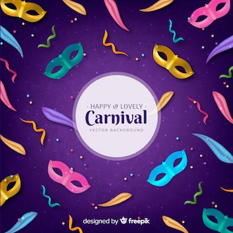 Happy and lovely carnival