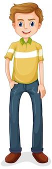Счастливый человек мультипликационный персонаж