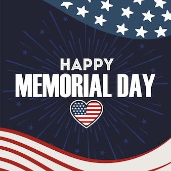 Happy memorial day of the usa 4 th july.