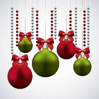 Happy merry christmas decorative icon