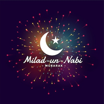 Happy milad un mabi barawafat festival celebration