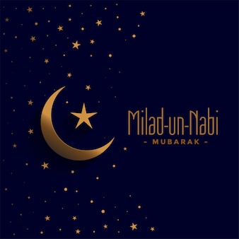Happy milad un nabi barawafat festival holiday card