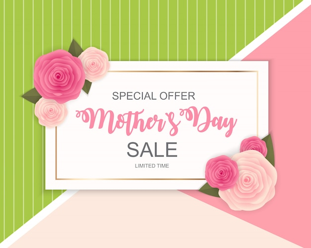 Happy mother s day cute sale banner