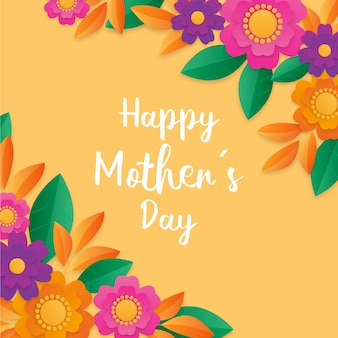 Happy mother's day floral design