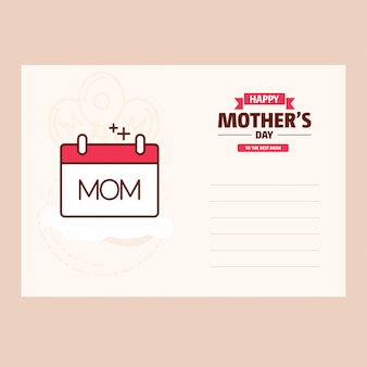 Happy mother's day sweet vintage background