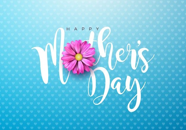 Поздравительная открытка на день матери
