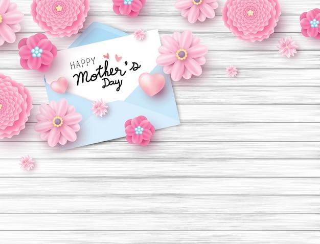 母の日おめでとう Premiumベクター