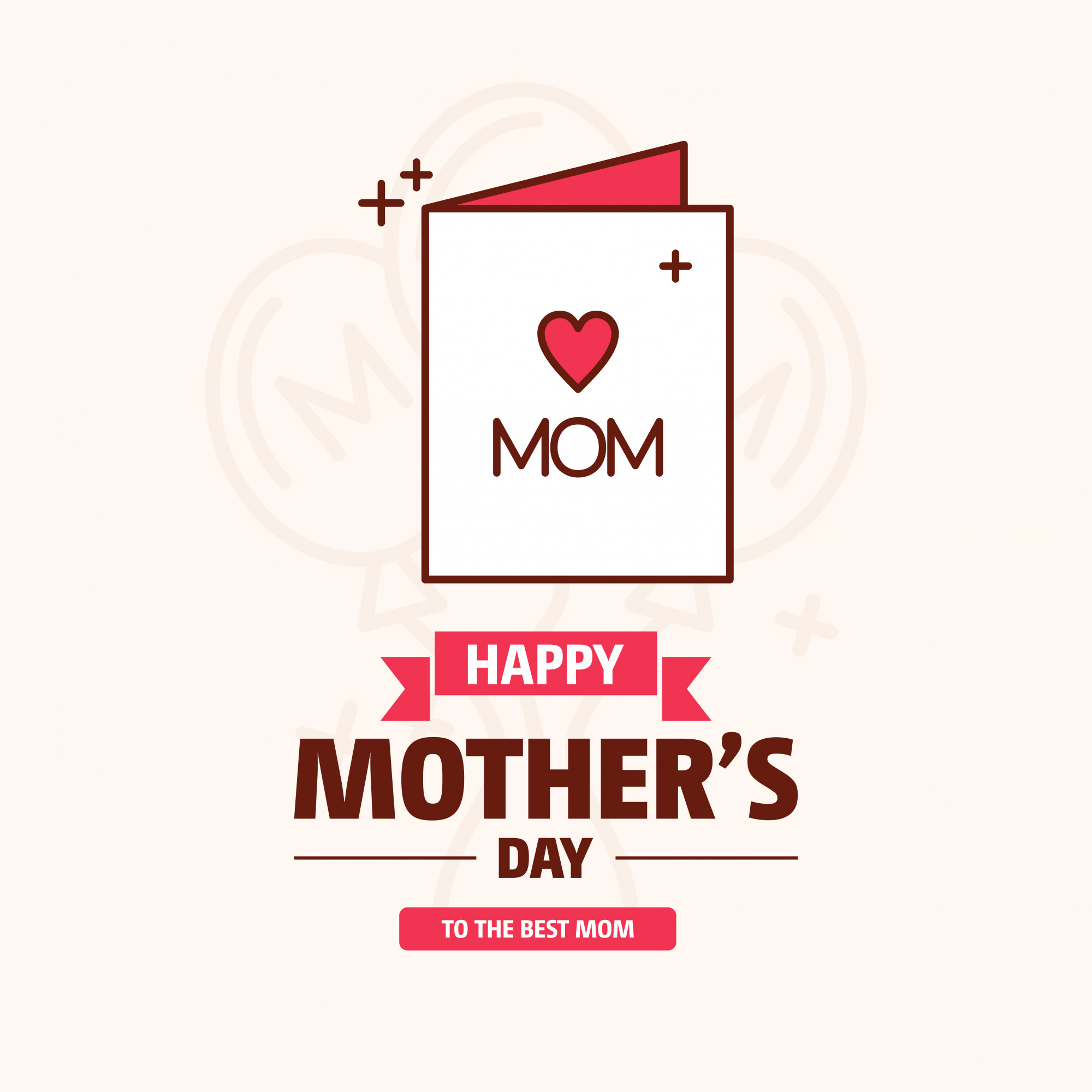 Happy Mothers's Day Sale Banner
