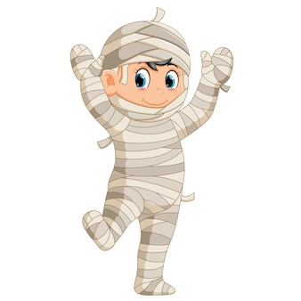Happy mummy walking