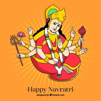 Happy navratri background