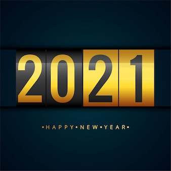 Happy new 2021 year creative  background