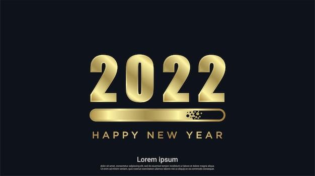 로딩 배경으로 새해 복 많이 받으세요 2022 년