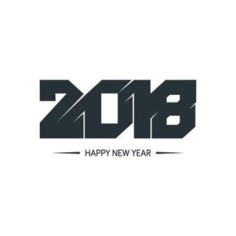 새해 복 많이 받으세요 2018 화려한 디자인