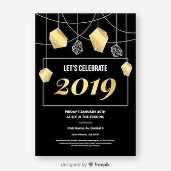 Felice anno nuovo 2019 poster