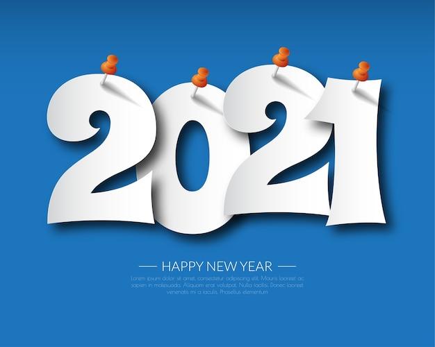 С новым 2021 годом. поздравительная открытка 2021 года. абстрактный фон. 2021 фон баннера.