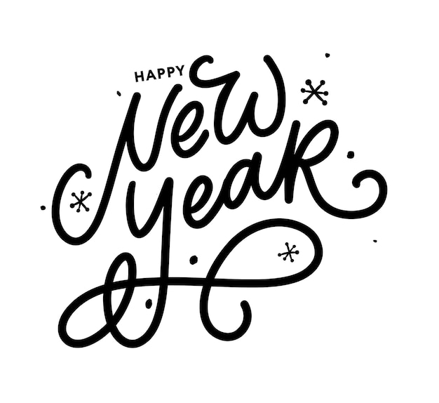 Happy new year 2021 beautiful greeting card poster
