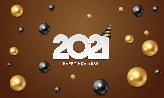 Happy new year 2021 greeting
