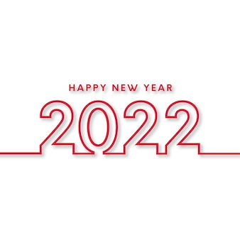 С новым годом 2022 фон с красными линиями