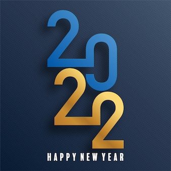 Happy new year 2022 background