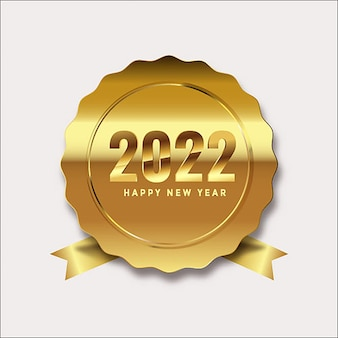 Happy new year 2022 bokeh background celebration