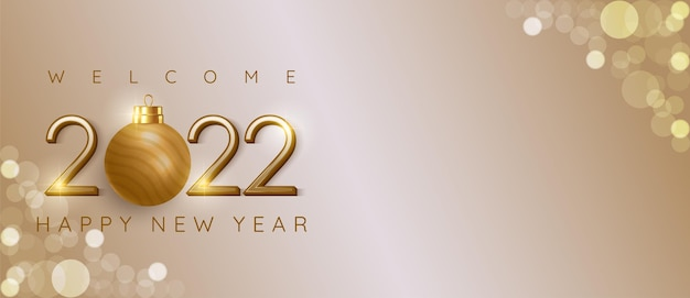Happy new year 2022 modern design with text space suitable for banner new year celebration