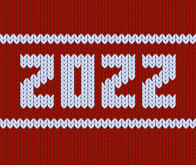 Happy new year banner for seasonal holidays fabric sweater embroidery tshirt print traditional