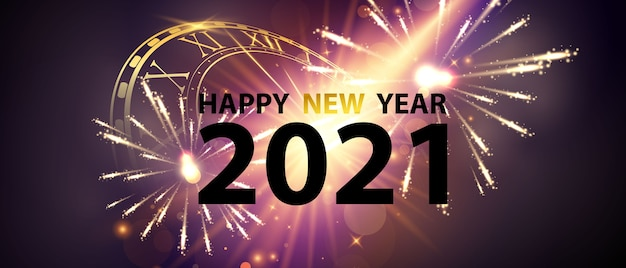 Happy new year gold background and christmas themed celebration party banner and cards.