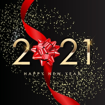 Happy new year holiday background.