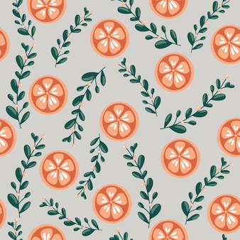 Happy new year and merry christmas seamless pattern
